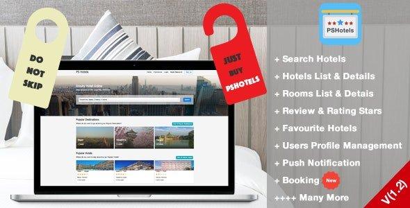 PSHotels Website (Ultimate Hotels Finder Website With Backend) Nulled