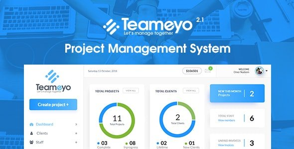 Teameyo - Project Management System Nulled