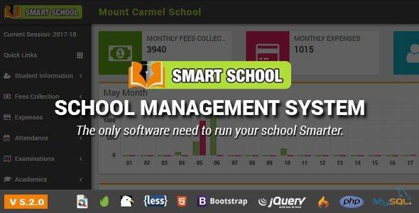 Smart School : School Management System nulled