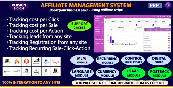Affiliate Management System Nulled