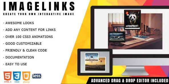 ImageLinks - jQuery Interactive Image with Builder Free