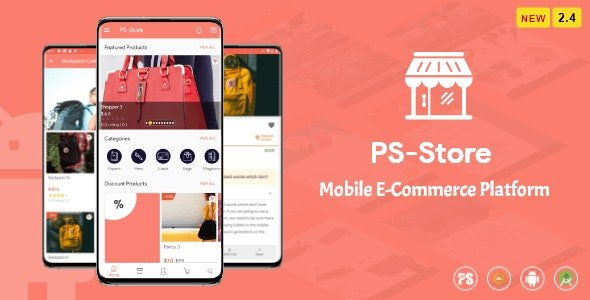 PS Store v2.5 ( Mobile eCommerce App for Every Business Owner )