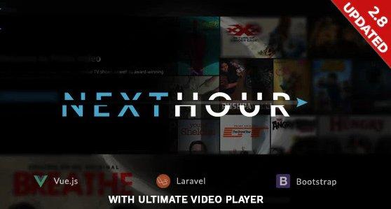Next Hour - Movie Tv Show & Video Subscription Portal Cms