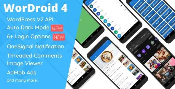 WorDroid - Full Native WordPress Blog App Free