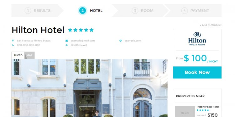 Hotel-Booking HTML Templates