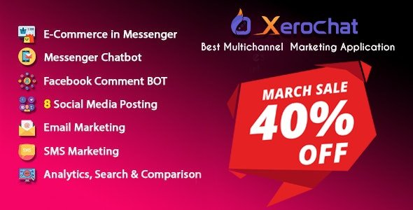 XeroChat v6.1.2 - Best Multichannel Marketing Application (SaaS Platform) Nulled