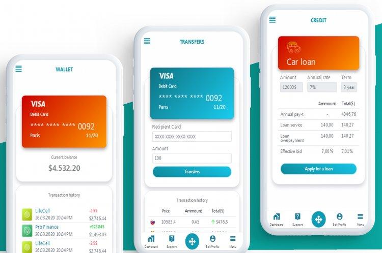 My Min Fin - Mobile Finance HTML templates
