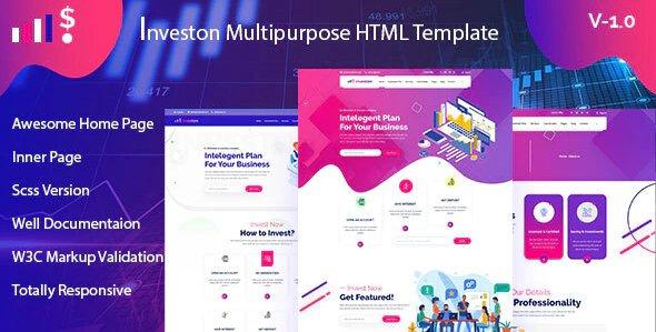 Investon - Multipurpose Business HTML Template