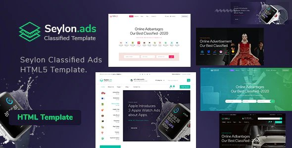 Seylon - Classified Ads HTML5 Template