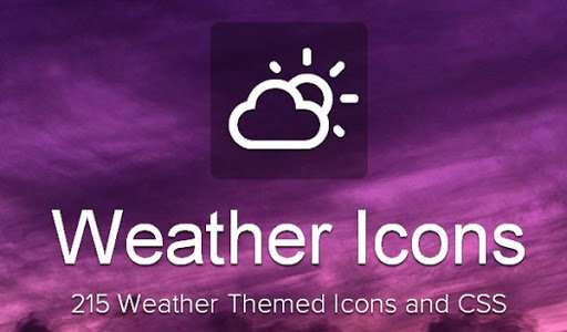 Weather Themed Icons