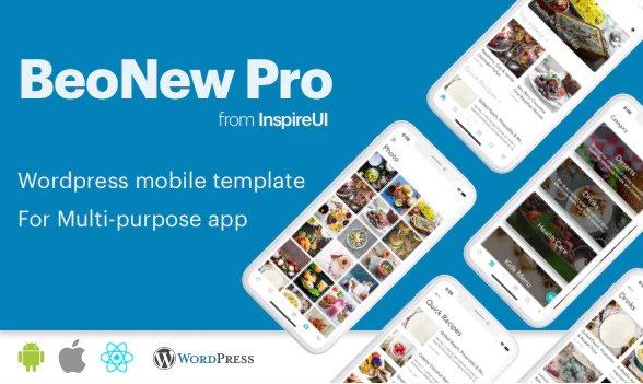 BeoNews Pro - React Native mobile app for Wordpress v3.0.6