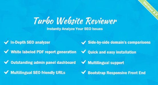 Turbo Website Reviewer - In-depth SEO Analysis Tool v2.3 Nulled