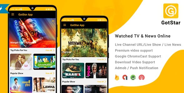 GotStar - Android Live TV - Live Streaming - Web Series, Movies, Live Cricket - Online News v1.0
