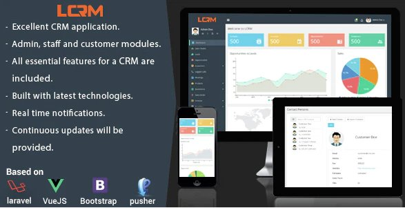 LCRM - Next generation CRM web application v2.3 Nulled
