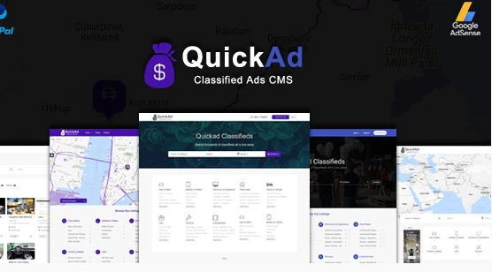Classified Ads CMS PHP Script - Quickad Classified v9.0 Nulled
