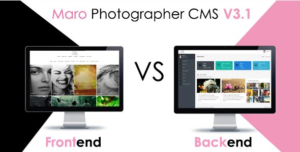 Maro Phpotographer CMS v3.2 Nulled