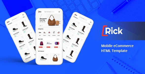 Rick – Mobile eCommerce HTML Template