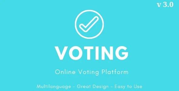 Voting - Online Voting Platform v3.0