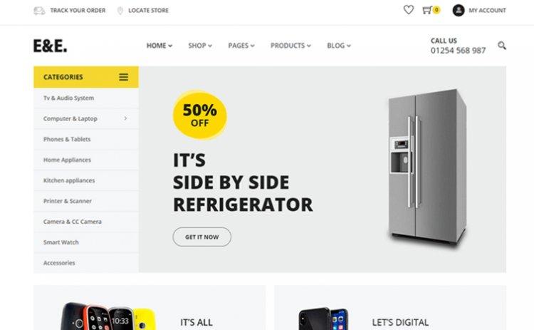 Electronics HTML Template