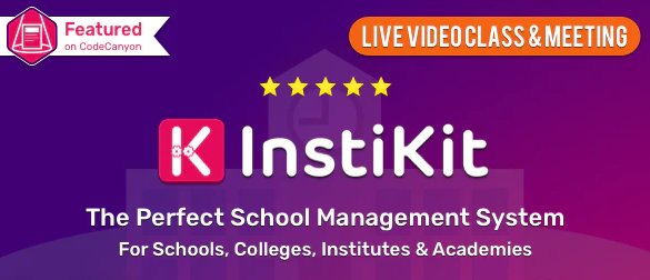 InstiKit School - School Management System & School ERP v2.9.0