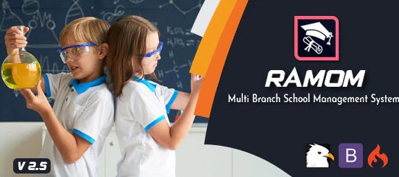 Ramom - Multi Branch School Management System v3.0 Nulled