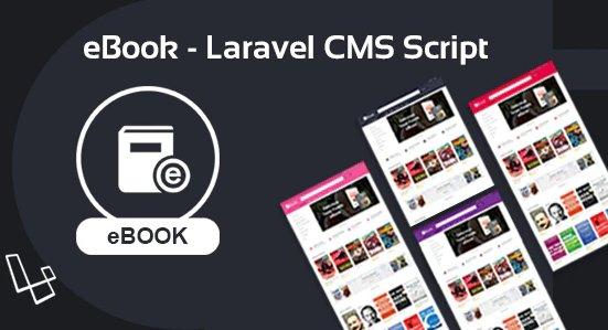 eBook - Laravel CMS Script V2.0.2