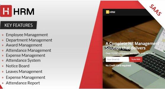 HRM SAAS - Human Resource Management v4.1.1
