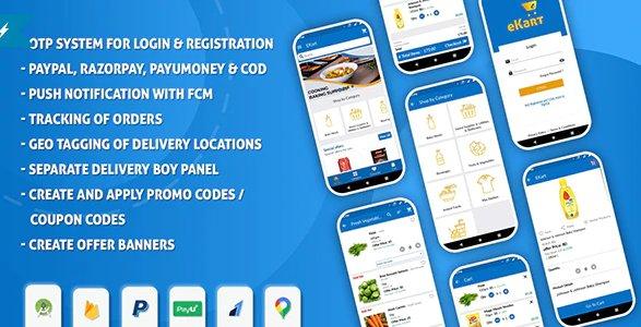 eKart - Android e-commerce app v2.0.7