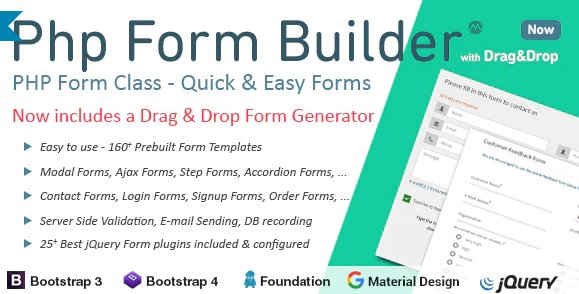 PHP Form Builder v4.5.0 Nulled