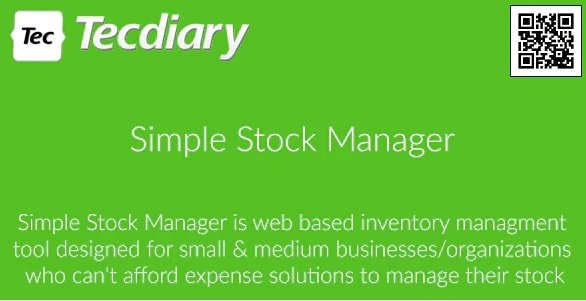 Simple Stock Manager v2.1.2