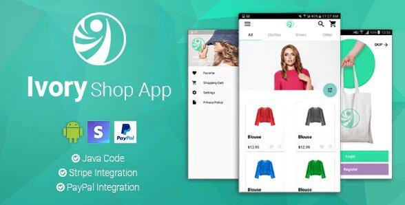 Ivory Shop - Android eCommerce App v2.2.2