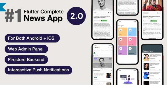 News Hour - Flutter News App with Admin Panel v3.0.4
