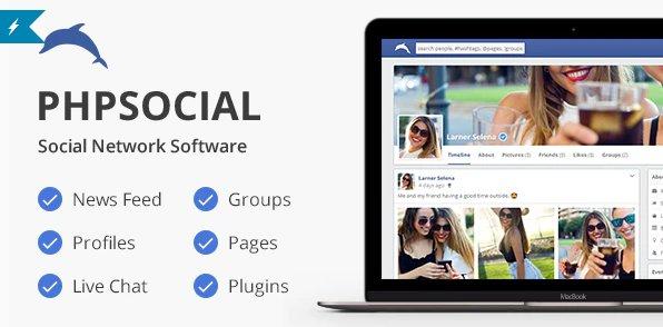 phpSocial - Social Network Platform v6.5.0
