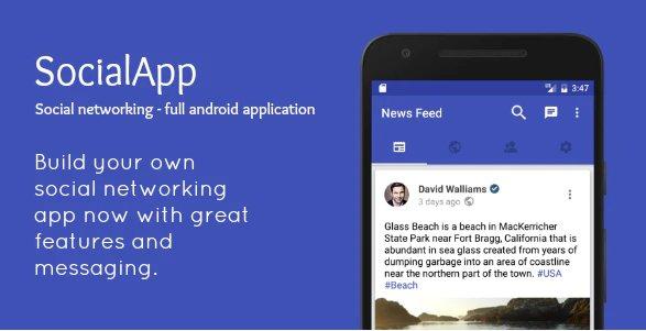 SocialApp - Full Android Application v2.0