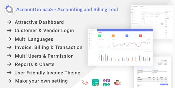 AccountGo SaaS - Accounting and Billing Tool v1.0