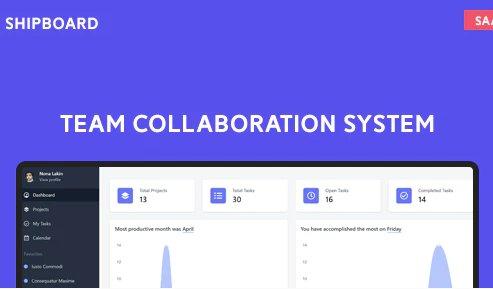 Shipboard SaaS - Team Collaboration System