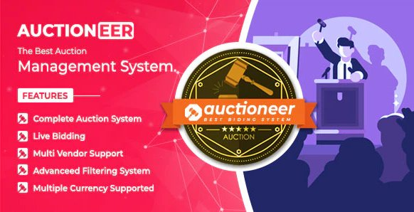 Auctioneer - Full Auction management