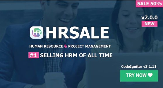 HRSALE - The Ultimate HRM v2.0.0