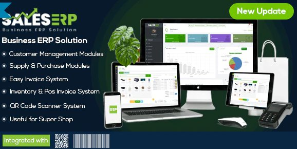 ERP – Business ERP Solution / Product / Shop / Company Management v9.6