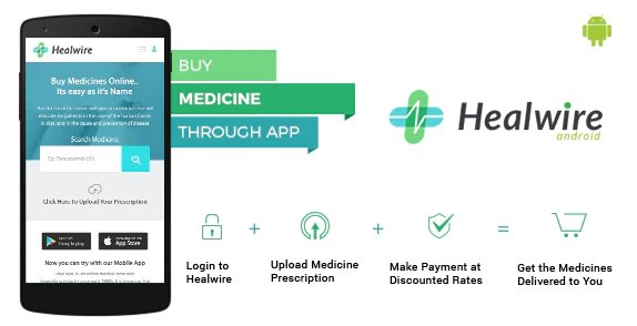 Healwire Android - Online Medical Store v1.1.2