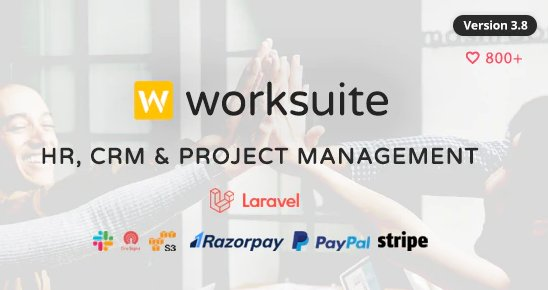 WORKSUITE - HR, CRM and Project Management v3.8.7