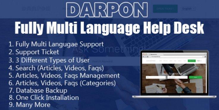 Darpon Help Desk Script v1.0