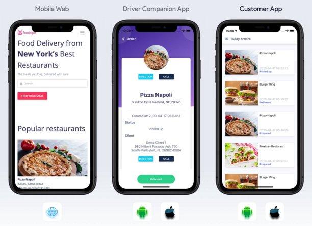 Multiple Restaurants PHP Script FoodTiger Food Delivery
