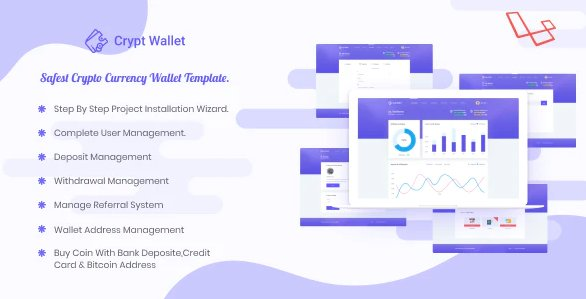 CryptWallet - Crypto Currency Web Wallet Pro v1.9