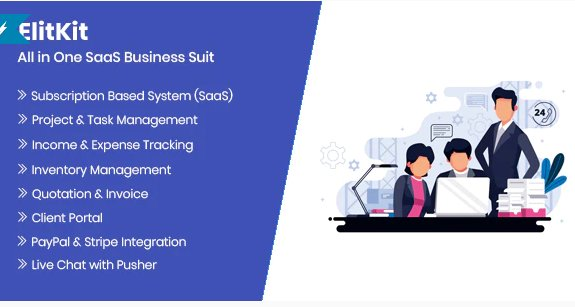 ElitKit - All In One SaaS Business Suit v1.0