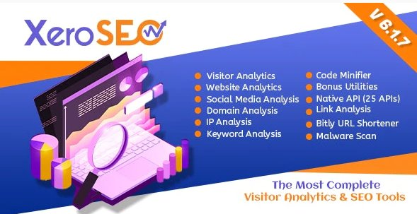 XeroSEO - The Most Complete Visitor Analytics & SEO Tools v6.1.7
