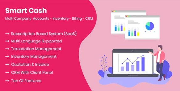 Smart Cash - Multi Company Accounts Billing & Inventory(SaaS) v3.1