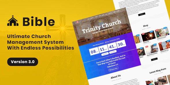 Bible - Church Management System v3.0