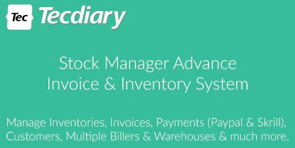 Stock Manager Advance (Invoice & Inventory System) v3.4.43