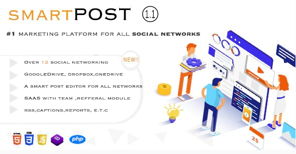 Smart Post - Social Marketing Tool v1.5 Nulled